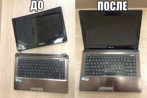 Корпусной ремонт ноутбуков