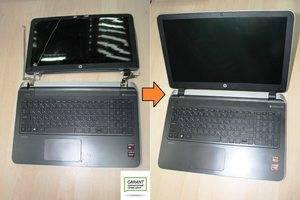 Замена петель ноутбука