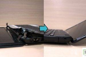 Замена топкейса, замена петель, ремонт нижнего поддона ноутбука