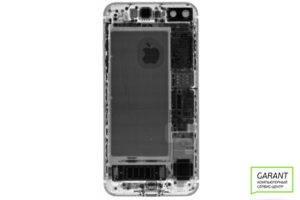 Рентгеновский снимок, поступившего в ремонт iPhone 7