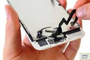 Модуль iPhone 7 с шлейфами