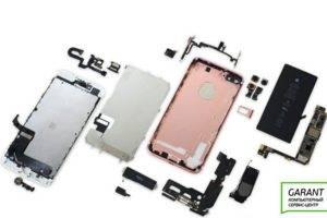 iPhone 7 в разобранном виде
